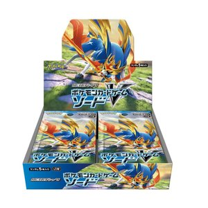 商品名 : ポケモンカードゲーム ソード&シールド 拡張パック「ソード」 BOX  JAN:4521...