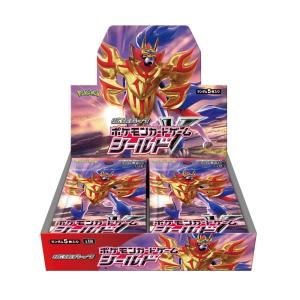 商品名 : ポケモンカードゲーム ソード&シールド 拡張パック「シールド」 BOX  JAN:452...