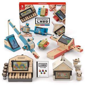 新品 在庫あり 即納 Nintendo Labo ニンテンドー ラボ Toy-Con  Variety Kit - Switch 任天堂 スイッチ バラエティー スウィッチ ダンボール 段ボール ソフト