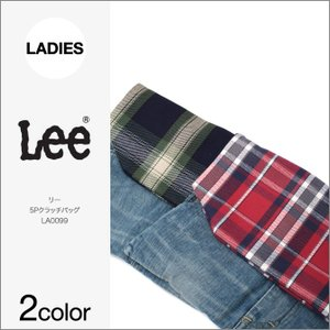 Lee リー デニム クラッチバッグ 5P CLUTCH BAG LA0099 チェック