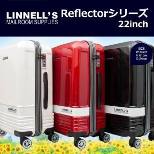 キャリーケース スーツケース MICHAEL LINNELL Reflectorシリーズ 22インチジッパータイプ旅行用キャリーケース/360-5011/全3色|borsa-uomo