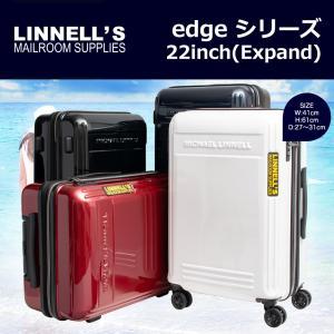 キャリーケース スーツケース MICHAEL LINNELL edgeシリーズ 22インチ拡張型ジッパータイプ旅行用キャリーケース/360-5001/全4色|borsa-uomo