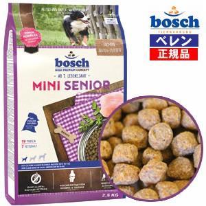 ボッシュ(bosch) ハイプレミアムミニシニアドッグフード (1.0kg)