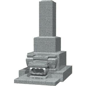 墓石 白御影石 高級和型のお墓