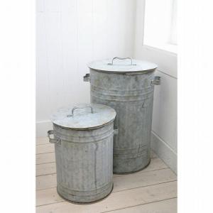 商品説明 ブリキのシンプルなゴミ箱です♪  ■サイズ:  L / W370×D335×H540  S...