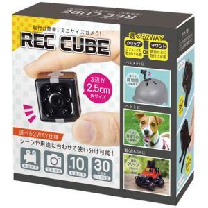 小型カメラ レックキューブ HAC2288 YY HAC 動画撮影 写真撮影 観察 30万画素 取付...