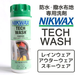 NIKWAX ニックワックス 防水・撥水布地専用洗剤 レインウェア マウンテンウェア Loft TECH WASH ロフトテックウォッシュ BE181|bostonclub