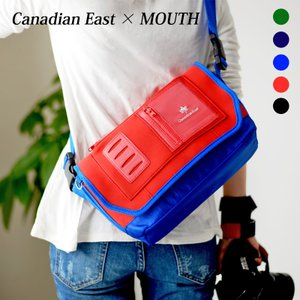 カメラバッグ 一眼レフ ショルダーバッグ 巾着 カメラケースセット Canadian East produced by MOUTH マウス レンズ2本 CEB1011|bostonclub