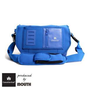 カメラバッグ 一眼レフ Canadian East produced by MOUTH カナディアンイースト マウス ミニ バッグ おしゃれ レンズ2本 インナーケース BLUE ブルー CEB1011|bostonclub