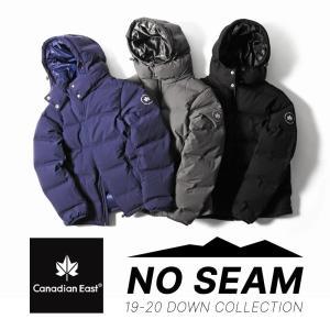 ダウンジャケット メンズ レディース シームレスモデル CanadianEast カナディアンイースト CEW9001T 750フィルパワー アウトドア|bostonclub