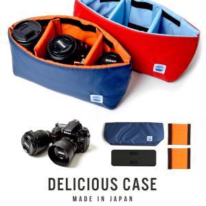 カメラケース 一眼レフ ミラーレス インナーバッグ カメラバッグ インナーケース 日本製 MOUTH マウス Delicious case デリシャスケース MJC12024|bostonclub