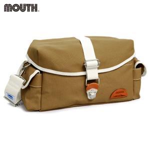 カメラショルダーバッグ カメラバッグ MOUTH Delicious Tackle Bag デリシャス タックルバッグ MJS14035-LBROWN|bostonclub