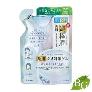 ロート製薬 肌ラボ 極潤 美白パーフェクトゲル 80g 詰替え用