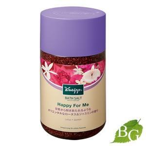 クナイプ バスソルト ハッピーフォーミー ロータス&ジャスミンの香り 850g|ボタニックガーデンPayPayモール店