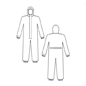 防護服タイベックソフトウェアII型の詳細画像1