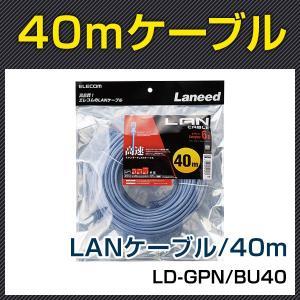 LD-GPN/BU40 Cat6準拠LANケーブル40m|bouhansengen