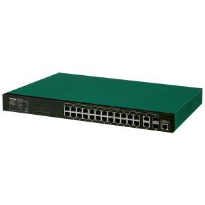 PanasonicスイッチングHUB給電PoE PlusタイプXG-M24TPoE+(PN83249)パナソニック 防犯カメラ 監視カメラ【RD-PPN83249】 bouhansengen