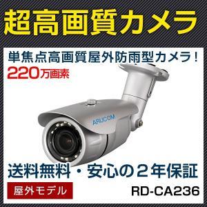 防犯カメラ 監視カメラ AHD220万画素 赤外線搭載屋外対応バレットカメラ (RD-CA236)|bouhansengen