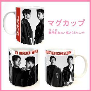 送料無料☆東方神起 TVXQ   マグカップ   cup59-1|bounceshop