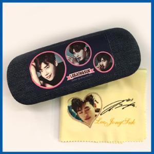 送料無料☆LEEJONGSUK  イジョンソク メガネケース&メガネ拭きセット megane30-2|bounceshop