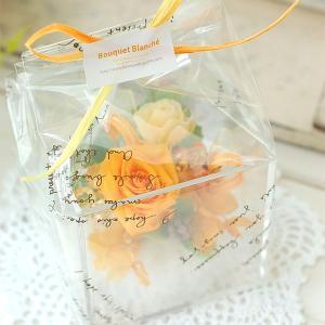 プリザーブドフラワーアレンジ 「クリスタルキューブ10」プレゼント