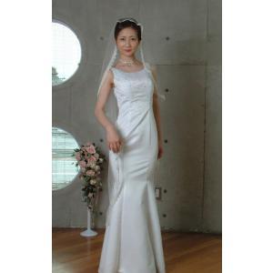 ウエディングベール ヘッドドレス マリアベール 結婚式 ブライダルベール :レース(オフホワイト)|bourree