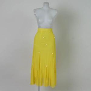 ダンス スカート チュールスカート 黄色|bourree