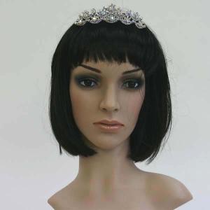 ティアラ 髪飾り結婚式 ブライダル ウエディング|bourree