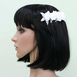 髪飾り ヘッドドレス/櫛タイプ 結婚式お呼ばれ ブライダル ウエディング|bourree