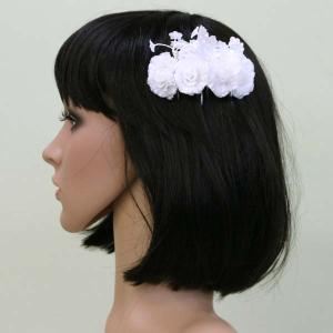 髪飾り ヘッドドレス/櫛 結婚式 ブライダル ウエディング|bourree