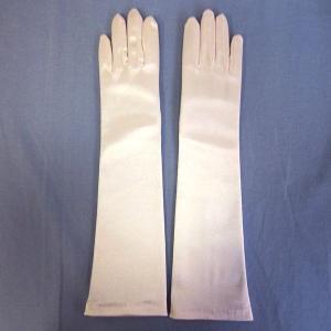 子供用 サテン手袋 グローブ ドレス手袋 結婚式 ブライダル ピンク|bourree