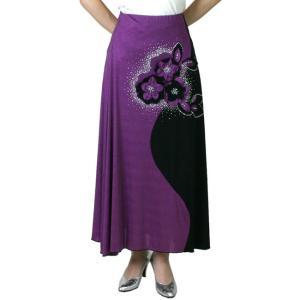 ダンス 衣装 社交ダンス スカート衣装 ロングスカート 舞台 ステージ衣装 カラオケ衣装|bourree