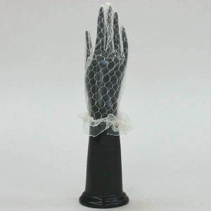 手袋/グローブ フォーマル手袋 レースグローブ 結婚式 ブライダル パーティ ダンスに/カラー:ベージュ|bourree