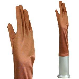 サテン手袋 グローブ レディースミディアム丈 TS-M ビスク|bourree