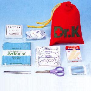 救急セットDr.K(巾着型)(防災用品 救急箱)|bousai