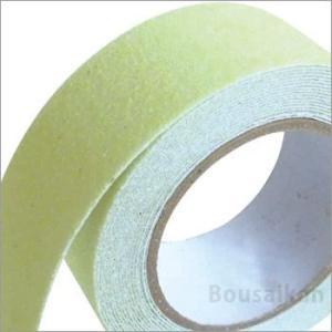 すべり止めテープ(ZARA×2(ザラザラ))蓄光ST-15約幅50mm×5m巻(区画テープ 滑り止め 安全 避難誘導) bousai 02
