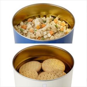 非常食セット サバイバルフーズ 大缶ファミリー6缶セット[約60食相当] チキンシチュー(約422g)3缶&クラッカー(約910g:約68枚)3缶 bousai 02