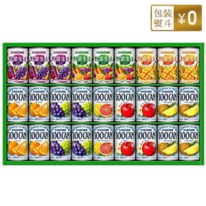 カゴメ フルーツ+野菜飲料ギフト【ラッピング込】KSR-30N 缶容器 化粧箱入30本セット|bousai