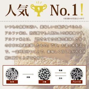 非常食アルファ米 尾西のわかめごはん100g×...の詳細画像4