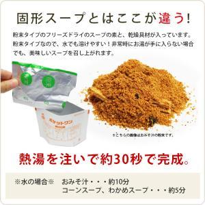 非常食 保存食 ポケットワンわかめスープ[1食...の詳細画像2