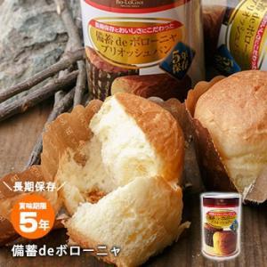 非常食 保存食 備蓄deボローニャ ブリオッシュパン5年保存 bousai