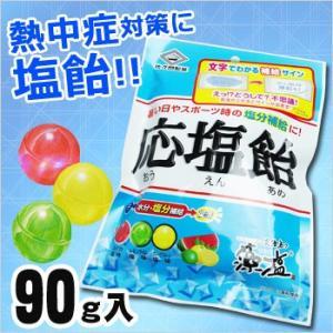 応塩飴(おうえんあめ 塩飴 しおあめ 熱中飴 熱中症 塩分補給 佐久間製菓)|bousai