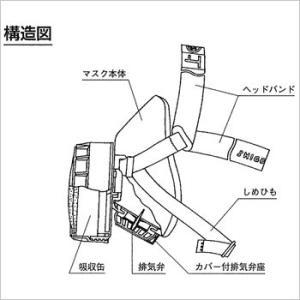 簡易防煙マスク ケムラージュニア(煙フード 防煙 火事 避難 マスク)|bousai|02