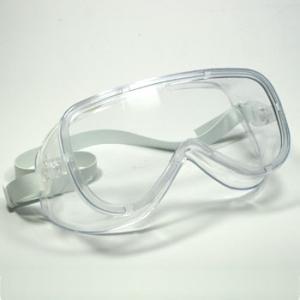 ウイルス対策ゴーグル! 密閉式JISゴーグルGL-73 JISTC(花粉 メガネ 眼鏡 めがね ウィルス 化学物質 アスベスト 防護)|bousai