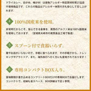 非常食 防災食 アルファ米12種セット(12食分)  尾西食品 コンプリートBOX  送料無料|bousai|07