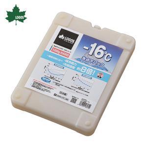 ●表面温度-16℃! ●保冷能力8倍(一般保冷剤に比べ) ●1.2kgの大型サイズ ●魚も凍る!ロゴ...
