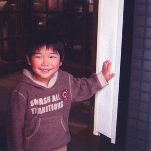 指ハサミ防止!もうはさまん棒ロングタイプ約98cm[アイボリー](子供 ドア挟み 窓挟み)|bousai