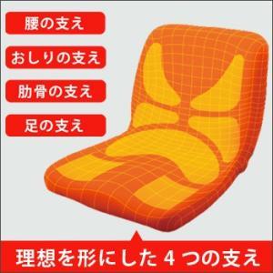 姿勢矯正クッション椅子 p!nto(ピント)(姿勢矯正 椅子 クッション 椅子に置く 姿勢改善 pinto) bousai 02