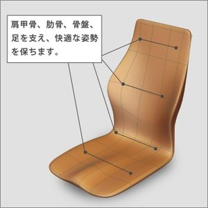 姿勢改善 クッション p!nto driver( ピントドライバー 姿勢矯正 ピント クッション 椅子に置く 姿勢改善 pinto)|bousai|02