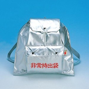 非常持出袋D(シルバー)(防災グッズ 防災袋 非常用持ち出し用品)|bousaikeikaku